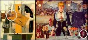 Cerveza en arte