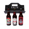 3pack de cerveza artesanal rojas