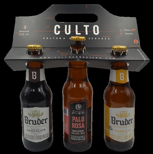 Nuestro experto cervecero te arma un 3pack de cervezas de sabores de nuestros aliados para que las pruebes.