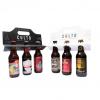 6 pack de cerveza artesanal rojas