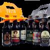 6pack de cerveza artesanal negras