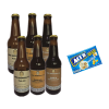 6pack de cervezas Lino Kim con Maíz Pira