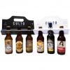 6pack de cervezas Artesanales Rubias